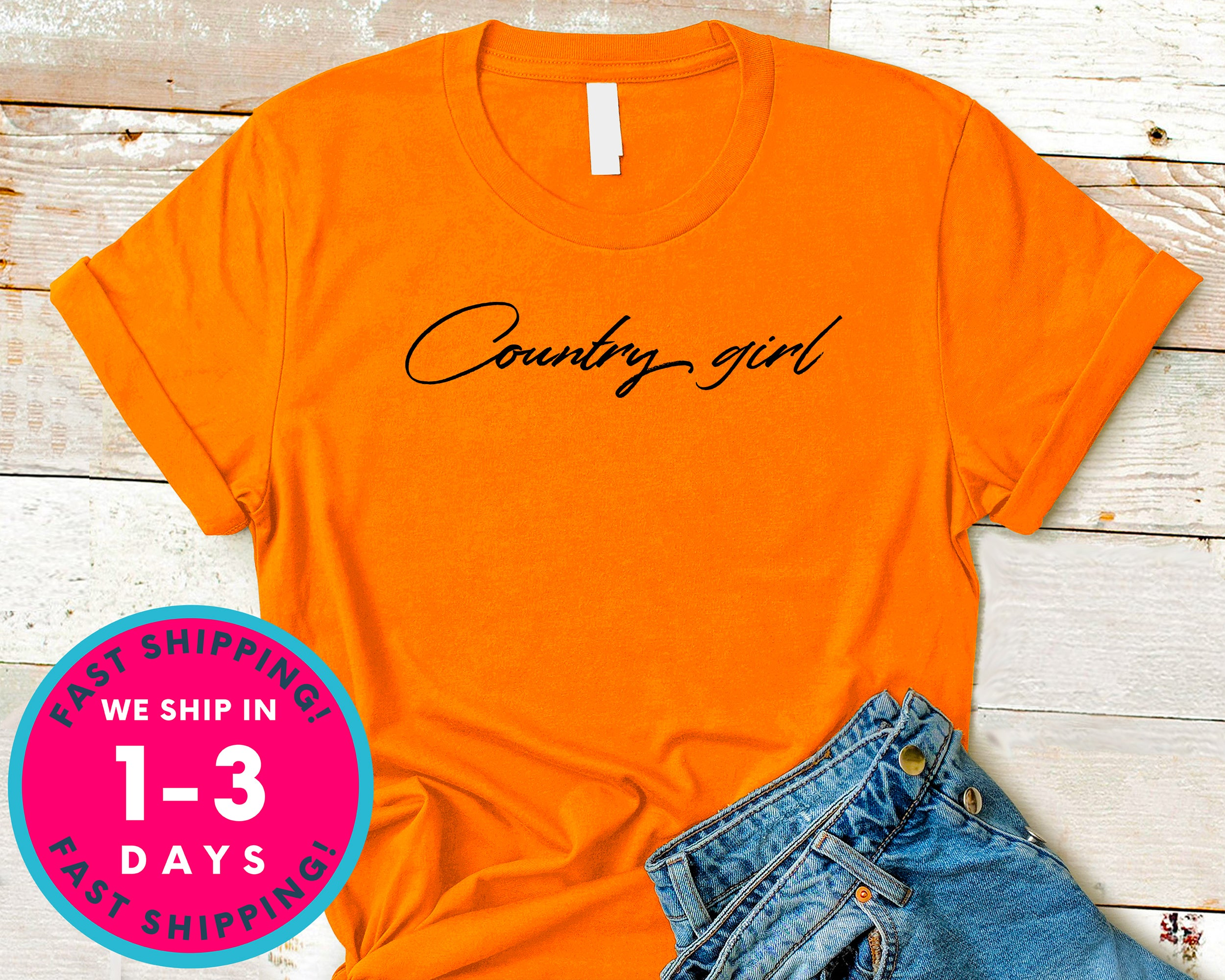 Cowboy Girl  Cowgirl T-Shirt - Lifestyle Shirt