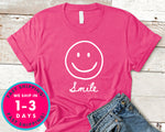 Smile Face T-Shirt - Funny Humor Shirt