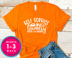 Self Service Laundry Open 24 Hours