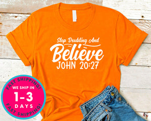 Stop Doubting And Believe John 2027