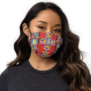 Face Mask - Beaded Floral