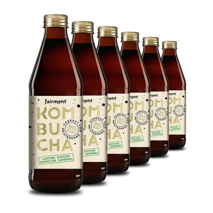 Bio Kombucha Limited Edition Spirulina Lavendel (330 ml Flaschen)