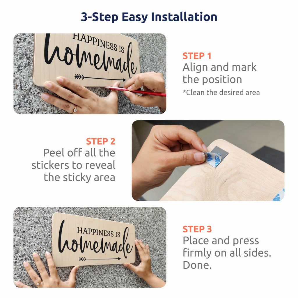3-Step Easy Installation