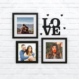 Love & Hearts Photo Wall, Size 2x2 Feet