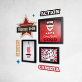 2ftx2ft Cinema Theme DIY Wall Decor Right View