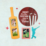 2ftx2ft Cricket Theme DIY Wall Decor Front View