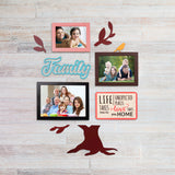 2ftx2ft Family Tree Theme DIY Wall Decor Front View