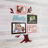 2ftx2ft Family Tree Theme DIY Wall Decor Left View