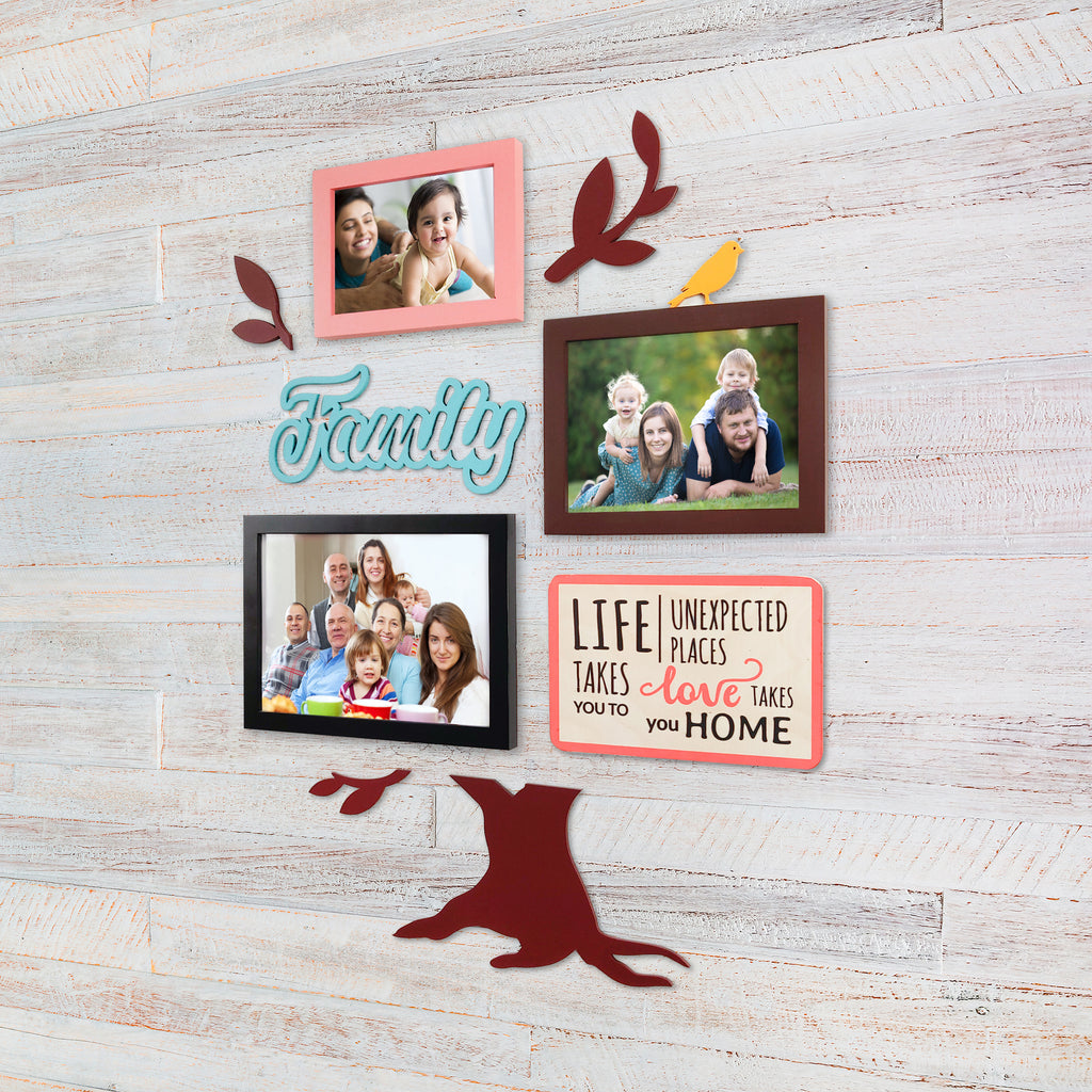 2ftx2ft Family Tree Theme DIY Wall Decor Right View