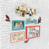 2ftx2ft Family Theme 1 DIY Wall Decor Left View