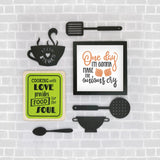 2ftx2ft Kitchen Theme DIY Wall Decor Front View