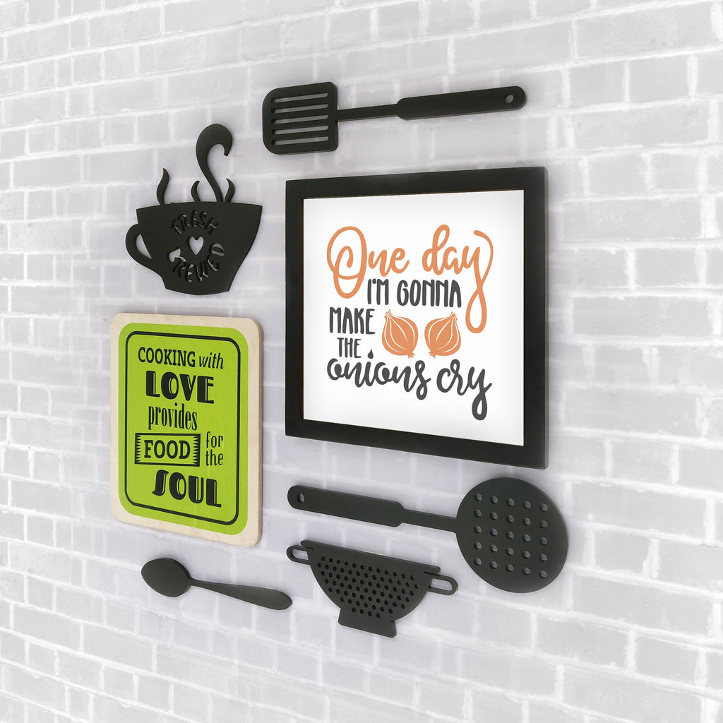 2ftx2ft Kitchen Theme DIY Wall Decor Right View