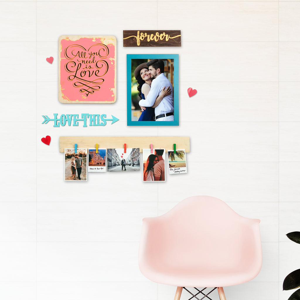 2ftx2ft Love Theme 1 DIY Wall Decor Mock