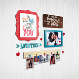 2ftx2ft Love Theme 2 DIY Wall Decor Left View
