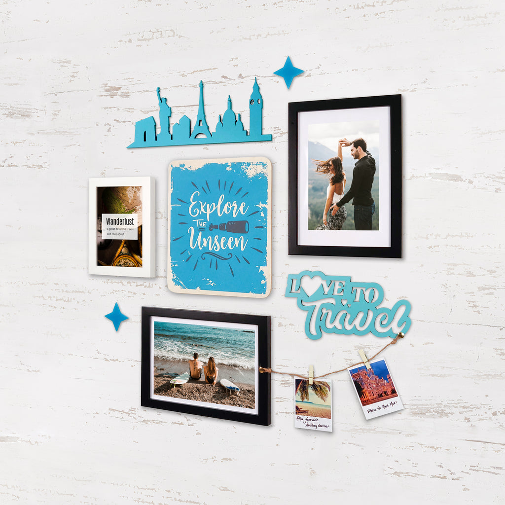 2ftx2ft Travel Theme DIY Wall Decor Right View
