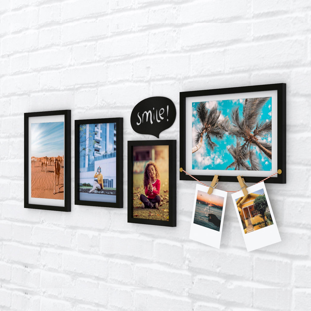 Smile+Clips Photo Wall, Size 3x1 Feet