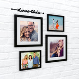 Love This Family Photo Wall, Size 2x2 Feet