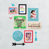3ftx2ft Family Theme DIY Wall Decor Front View