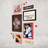 3ftx2ft Love Theme DIY Wall Decor Right View