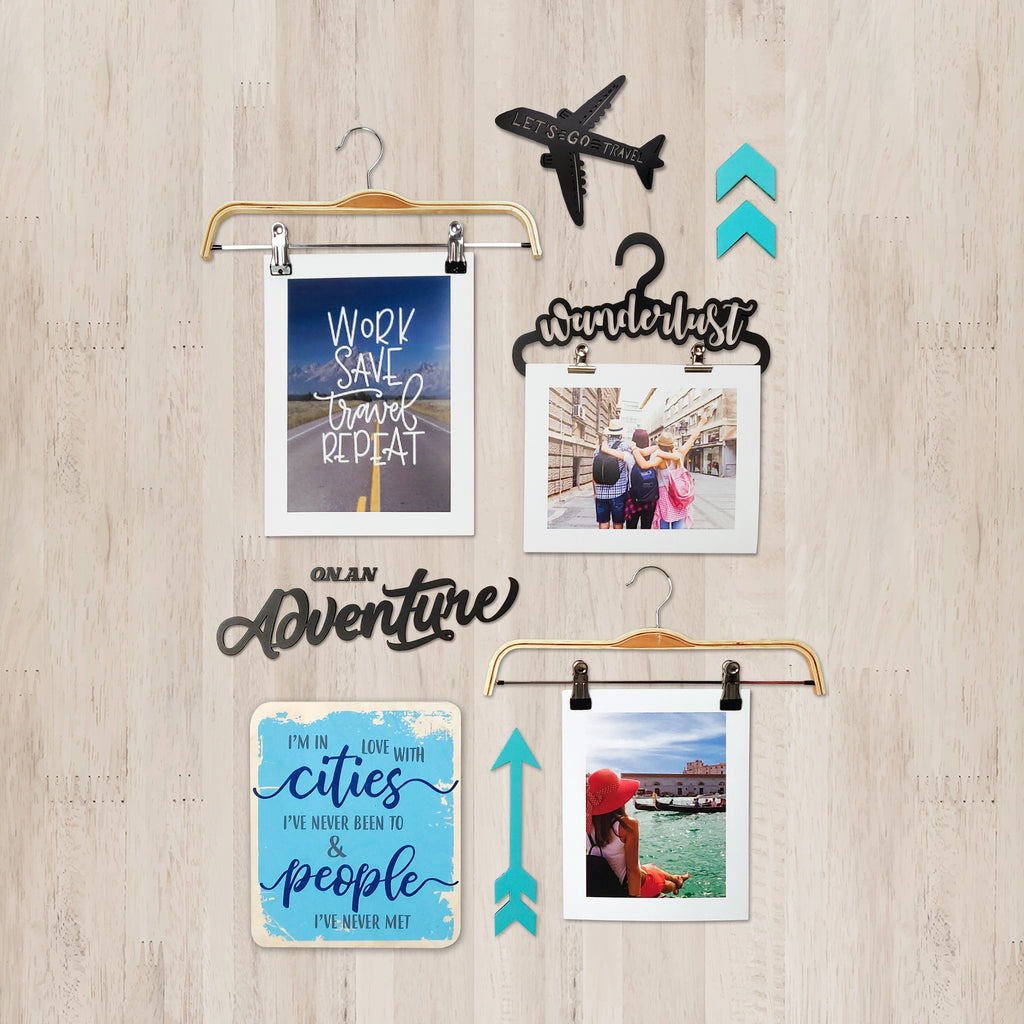 3ftx2ft Travel Theme DIY Wall Decor Front View