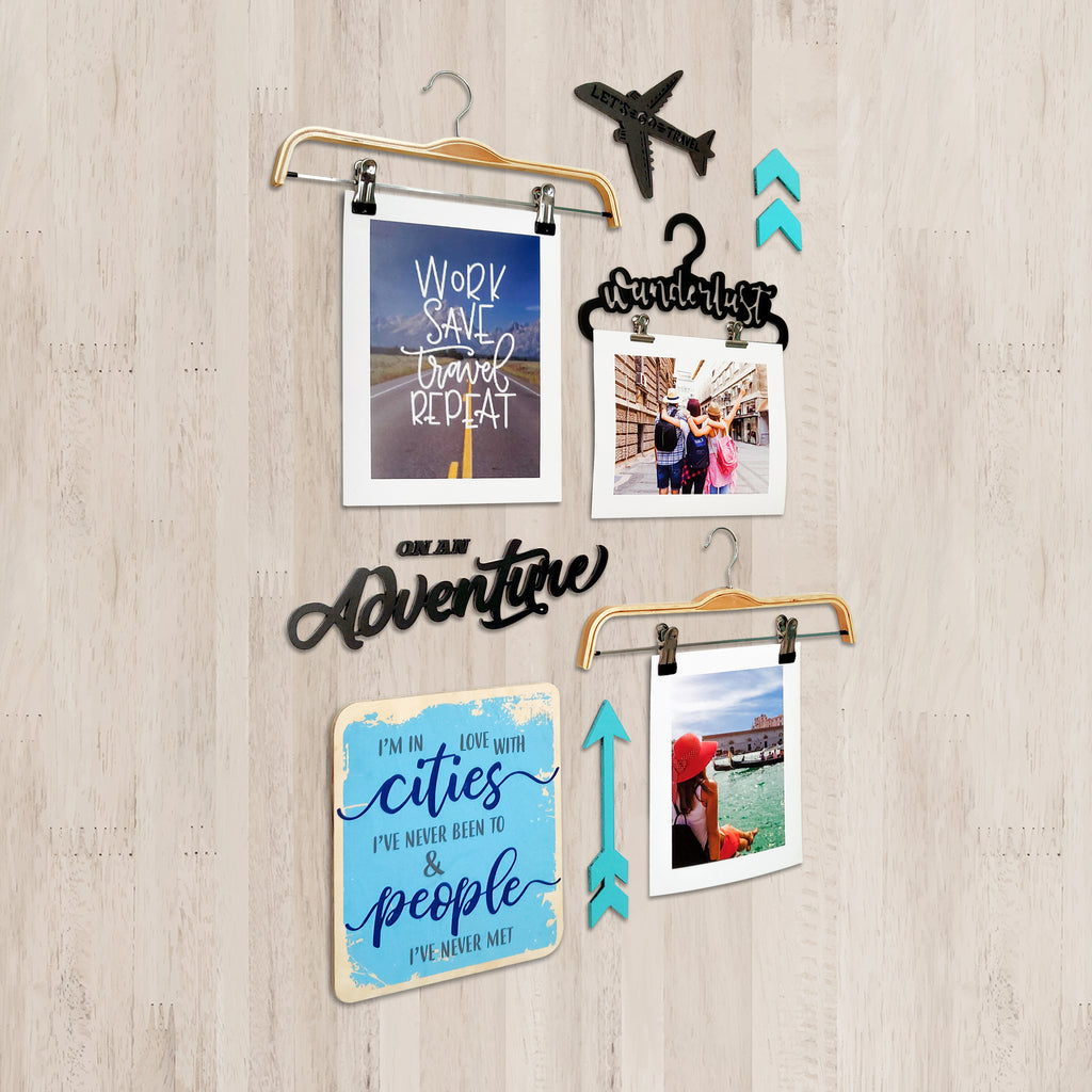 3ftx2ft Travel Theme DIY Wall Decor Left View