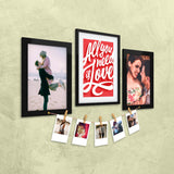 Love Quote Photo Wall, Size 3x2 Feet