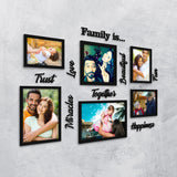Family Is... Photo Wall, Size 3x2 Feet