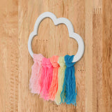 Rainbow Cloud Wooden Accent Right View