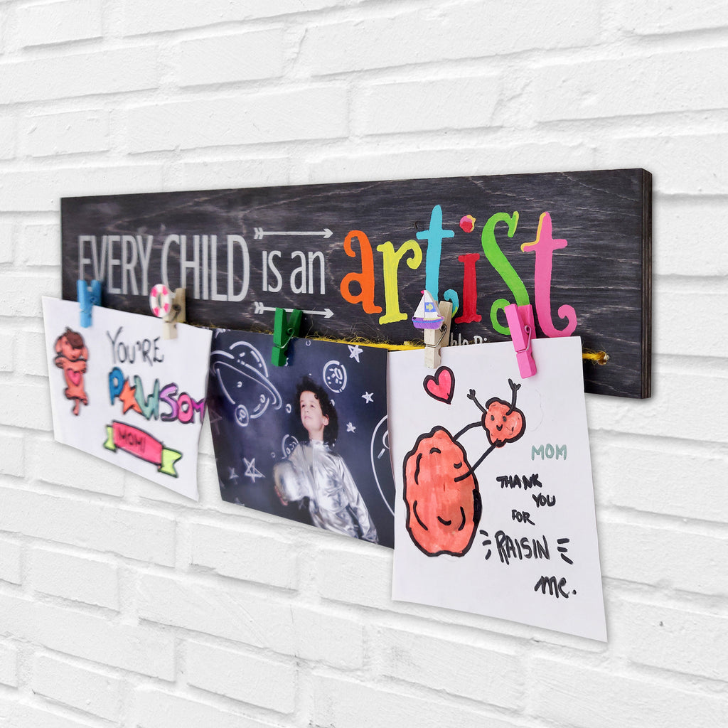 Every Child Is An Artist Photo Hanger Right View