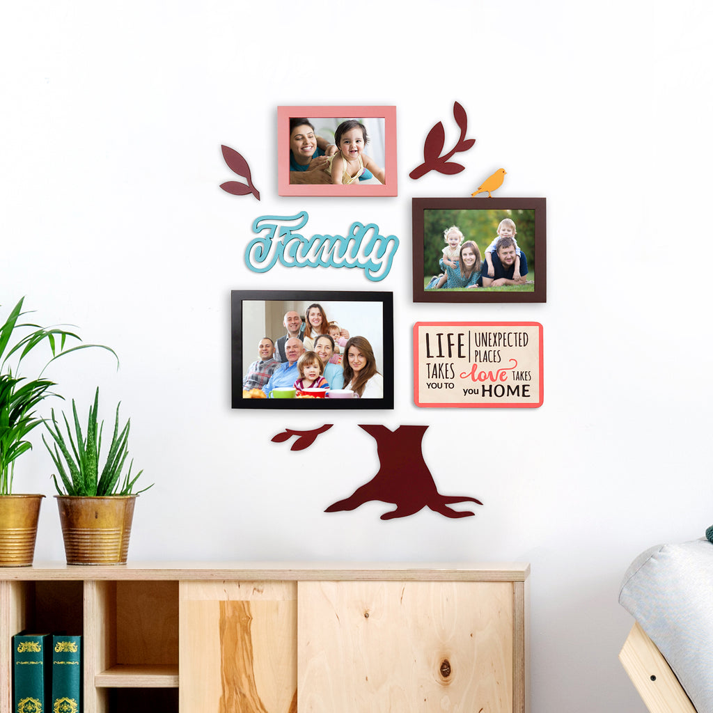 2ftx2ft Family Tree Theme DIY Wall Decor Mock