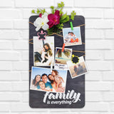 Family Is Everything Photo Hanger Front View