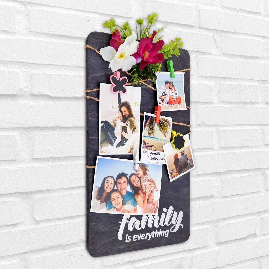 Family Is Everything Photo Hanger Left View