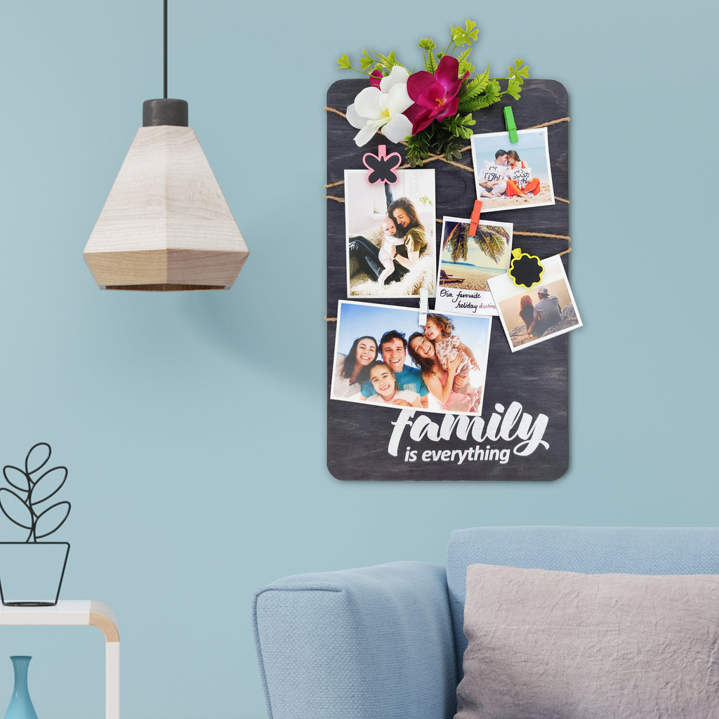 Family Is Everything Photo Hanger Mock