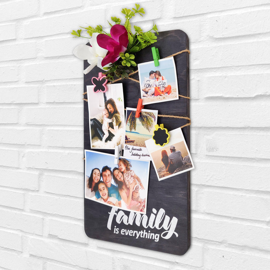Family Is Everything Photo Hanger Right View