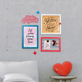 2ftx2ft Fashion Theme DIY Wall Decor Mock
