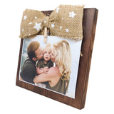Photo Desk Board With Jute Bow Right