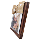 Photo Desk Board With Jute Bow Side