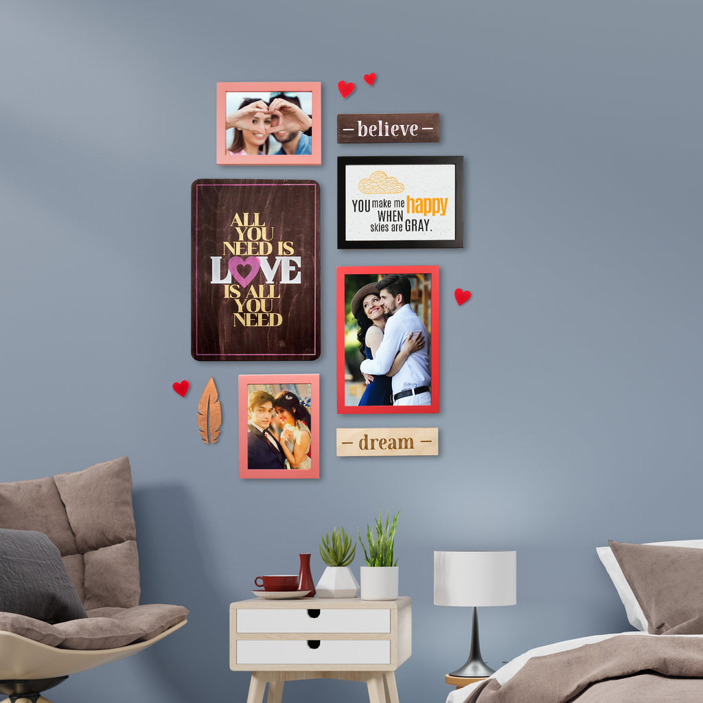 3ftx2ft Love Theme DIY Wall Decor Mock