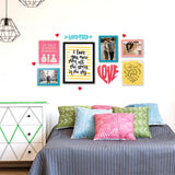 4ftx2ft Love Theme DIY Wall Decor Mock