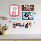 2ftx2ft Love Theme 2 DIY Wall Decor Mock
