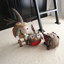 Load image into Gallery viewer, Furry Standing Reindeer