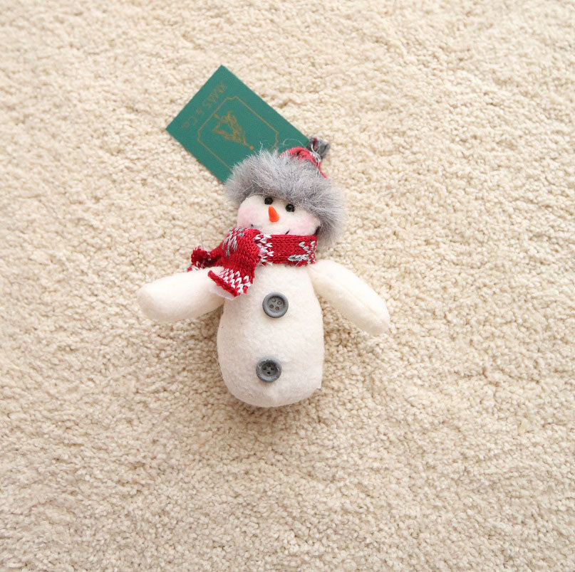 Hanging Plush Ornaments / Red