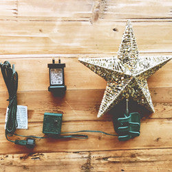 LED Star Tree Topper with Multi/ Warm White