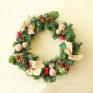 Christmasberry Decorated Wreath