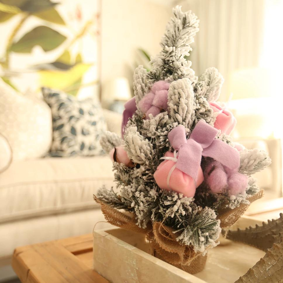 Pre-decorated Christmas Tree - Pink/Lilac