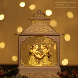 Open image in slideshow, Snowing French Lantern / Angel