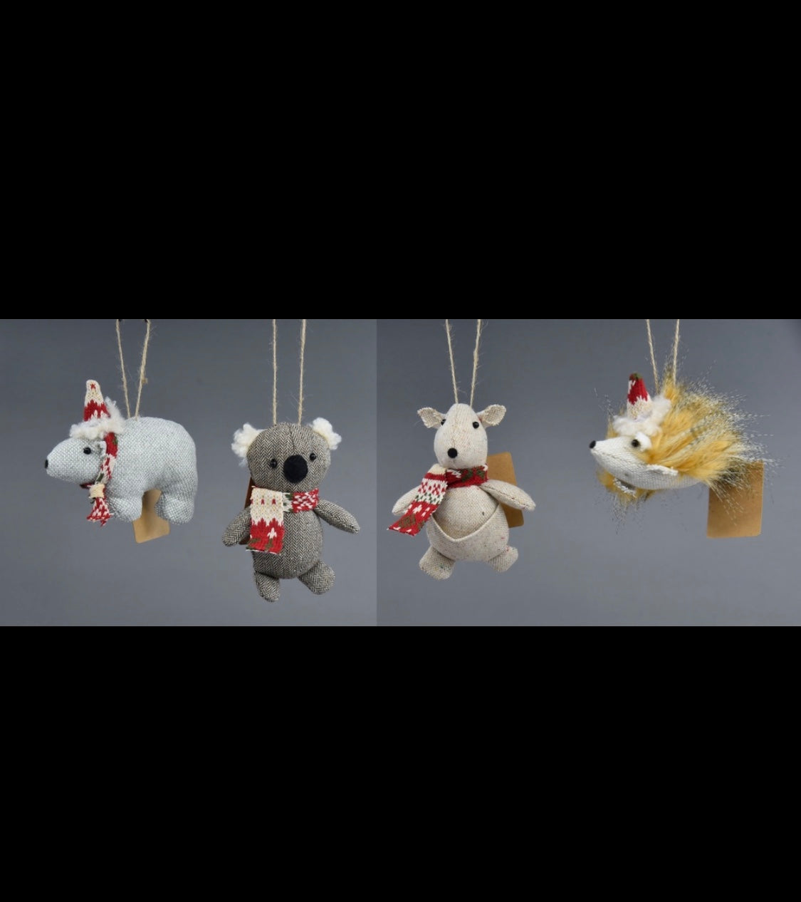 Native Animals Ornament Set