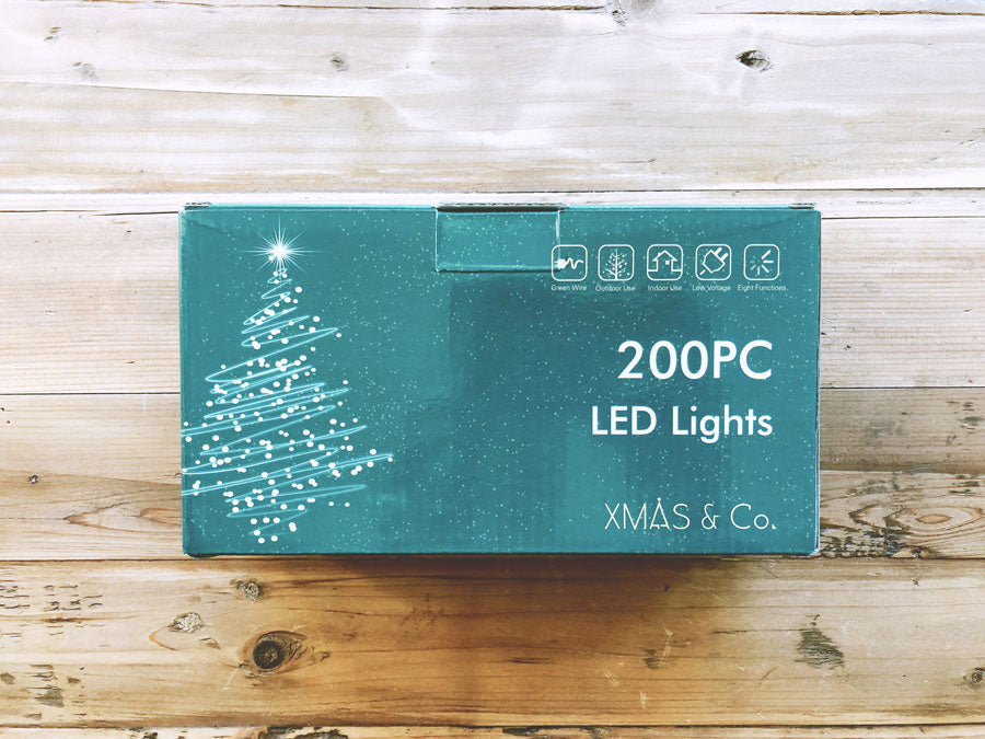 200PC LED Lights