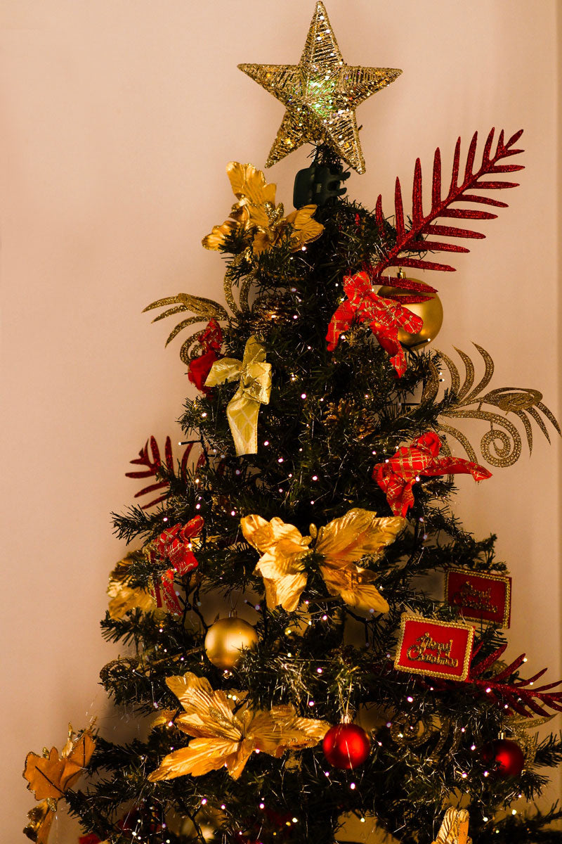 Tree Decoration Set Red & Gold ( 51pc )