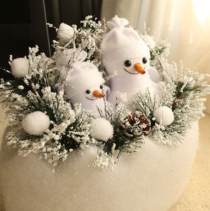 Open image in slideshow, Snowman in Egg Pot